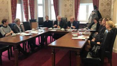 Uczestnicy seminarium wdrożeniowego w Toruniu w dniu 22 lutego 2018 roku