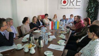 Wizyta ukraińska - zdjęcie grupy