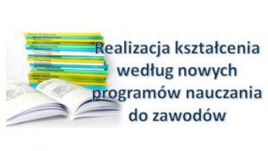 widok książek z tytułem programu szkolenia