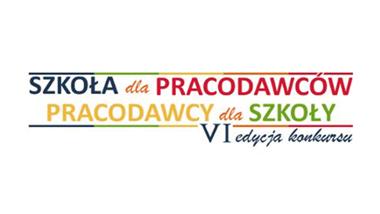 Logo VI edycji konkursu Szkoła dla pracodawców – pracodawcy dla szkoły